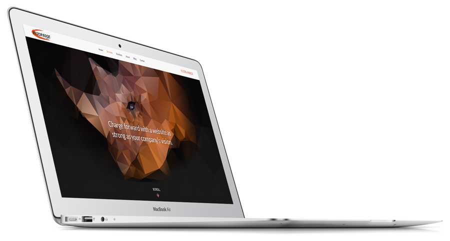 Responsive Websited Laptop
